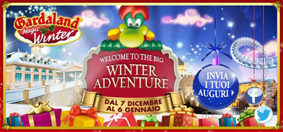 Gardaland Magic Winter 2013: il minisito