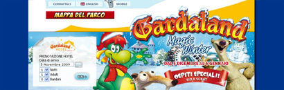 Gardaland Magic Winter:Splash Screen
